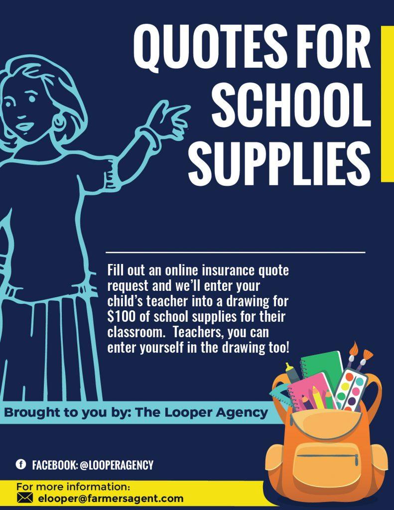 school supplies special